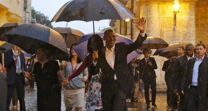 Историческа визита: Обама пристигна в Куба