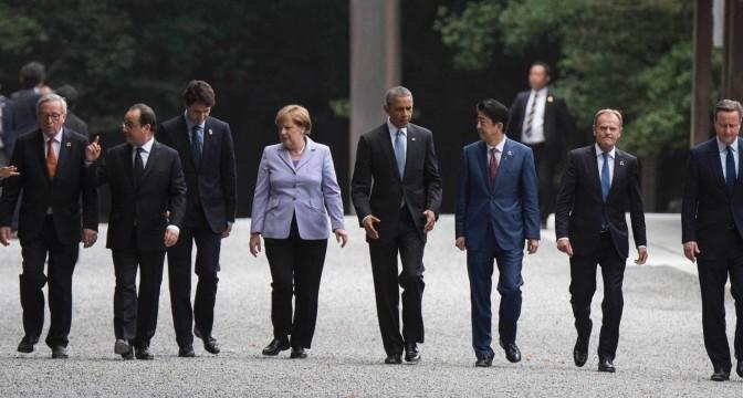 Лидерите на Г-7 обсъждат рисковете пред глобалната икономика в Япония