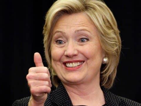 Как Хилари Клинтън те праща за зелен хайвер