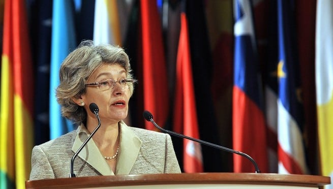Bokova Seeks First Female UN Chief Job as Initial Voting Starts